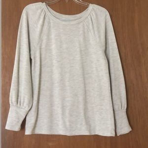 Loft Feminine Lightweight Sweatshirt, Like New